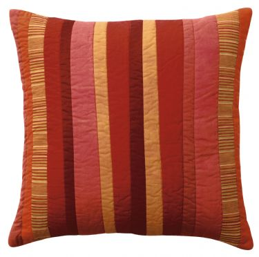 DS Accent Pillow Collection Stripe Red