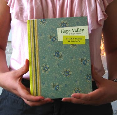 Hope Valley Sticky Notes packaging
