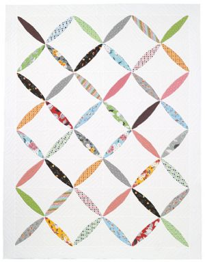 Flower Chain Quilt Pattern  Twin