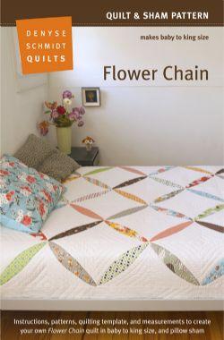 Flower Chain Quilt Pattern  Packaging