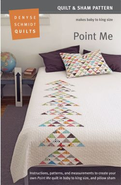 Point Me Quilt Pattern  Packaging