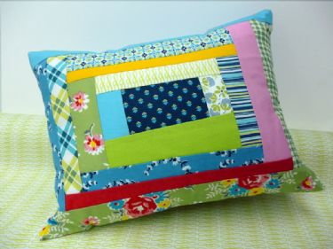 Sugar Creek and Winding Road pillow