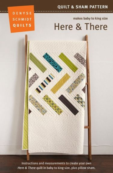 Here & There Quilt Pattern – PDF Packaging