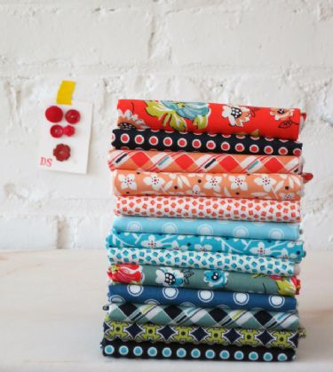 Blossom Reel fat quarter bundle