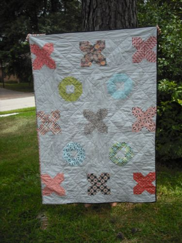 Florence Challenge Projects Hugs & Kisses Picnic Quilt by Amy Campbell Ryan