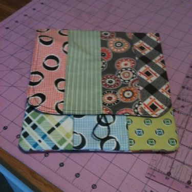 Florence Challenge Projects Picnic Pouch by Amy Campbell Ryan