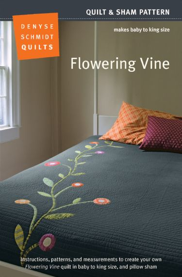 Flowering Vine Quilt Pattern  packaging