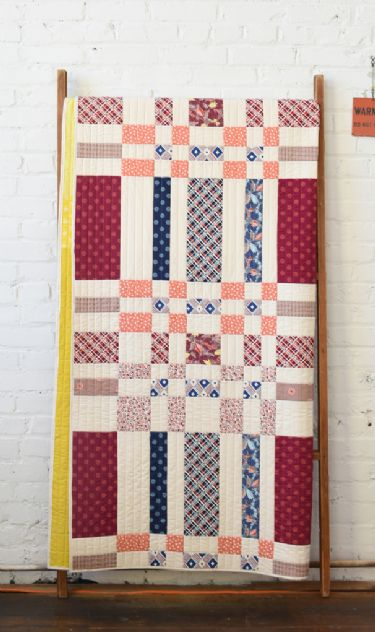Woven – new! On the quilt rack
