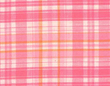Strings Attached Pink Skirt Fabric