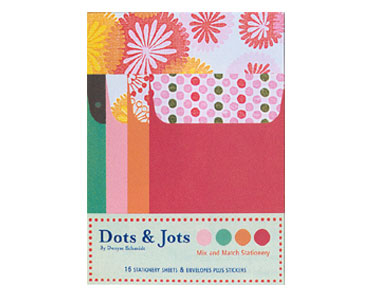 Dots & Jots Mix and Match Stationery Packaging