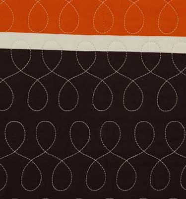 Jersey Stripes  Sangria (Cassis/Poppy/Espresso/Bone) Detail
