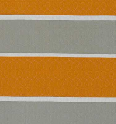 Rugby Stripes Tangerine/Putty/Bone Detail